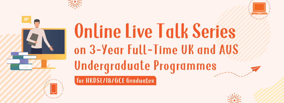 Online Live Talk Series on 3-Year Full-Time programme 2020