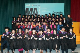 New overseas success as first UAL students graduate in Hong Kong(UAL news)