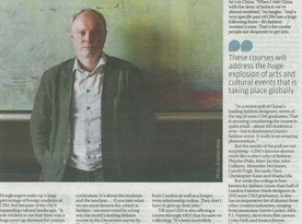 Art in lessons, lessons in art (SCMP) - an interview with Jeremy Till, Head of Central Saint Martins, UAL
