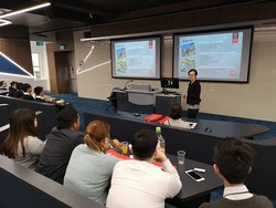 Lecture at Swinburne