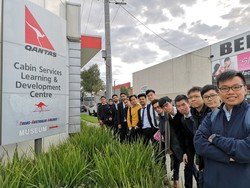 Visit to QANTAS Flight Training Centre