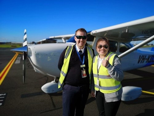 Trial Instructional Flight at CAE Oxford Aviation Academy