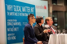 "International Dinner Forum: ""Why 'Glocal' Matters, HK?"": The Importance of International Education"