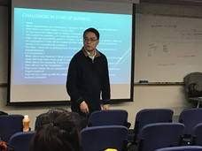 "Central Saint Martins' MA Guest Lecture by Adrian Chan, ""Current Challenges and Opportunities for Startup Businesses in Hong Kong - Cases for Art Startup"""