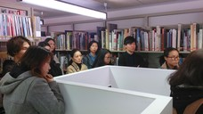 Central Saint Martins' MA Guided tour at Asia Art Archive