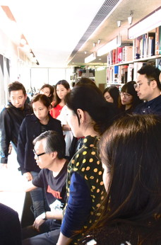 Central Saint Martins' MA Guided tour at Asia Art Archive by Joey Chung