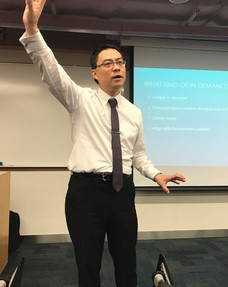 "Seminar ""STARTUP CLIMATE IN ASIA"" (Next Step Challenge 2017) by Adrian Chan"