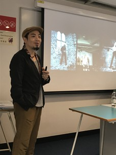 "London College of Communication MA Guest Lecture by Leo Chan, ""Working in the Creative Industries: Position Yourself; Say Hello to the World"""