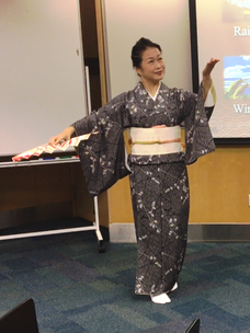 Japanese Traditional Dancing Lecture