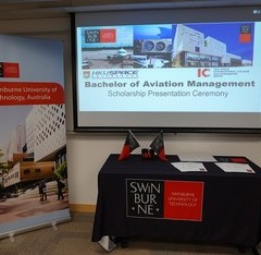 SWINBURNE UNIVERSITY OF TECHNOLOGY Scholarship Presentation Ceremony