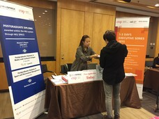 IC Booth at HK MBA & Postgraduate Fair at Regus Business Centre, Central Plaza