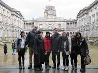 Overseas study at Edinburgh Napier 2014